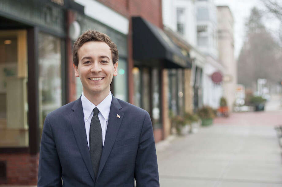 Will Haskell is running for the State Senate in the 26th District. — Emily Robinson photo