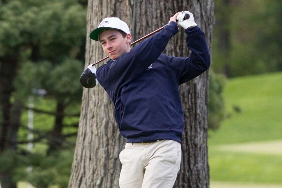 Junior captain Devon Filaski returns as the Wilton High boys golf team's number-one player this season. — GretchenMcMahonPhotography.com