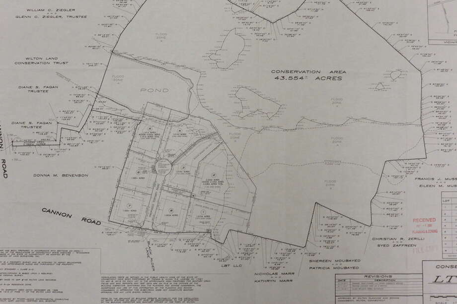 Map details plan for Cannon Road subdivision.
