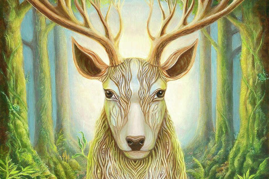 Deer Totem by Hadley Seymore