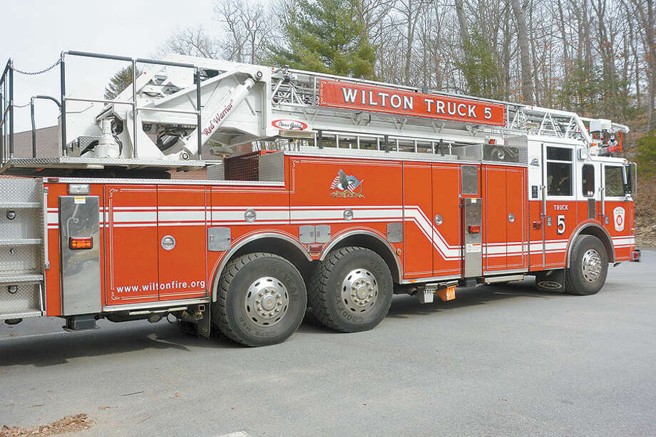 The 2004-built ladder truck