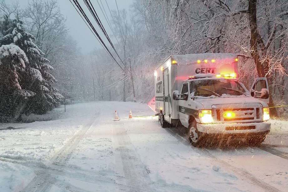 CERT at work during Wednesday's storm. — Paul Lourd photo