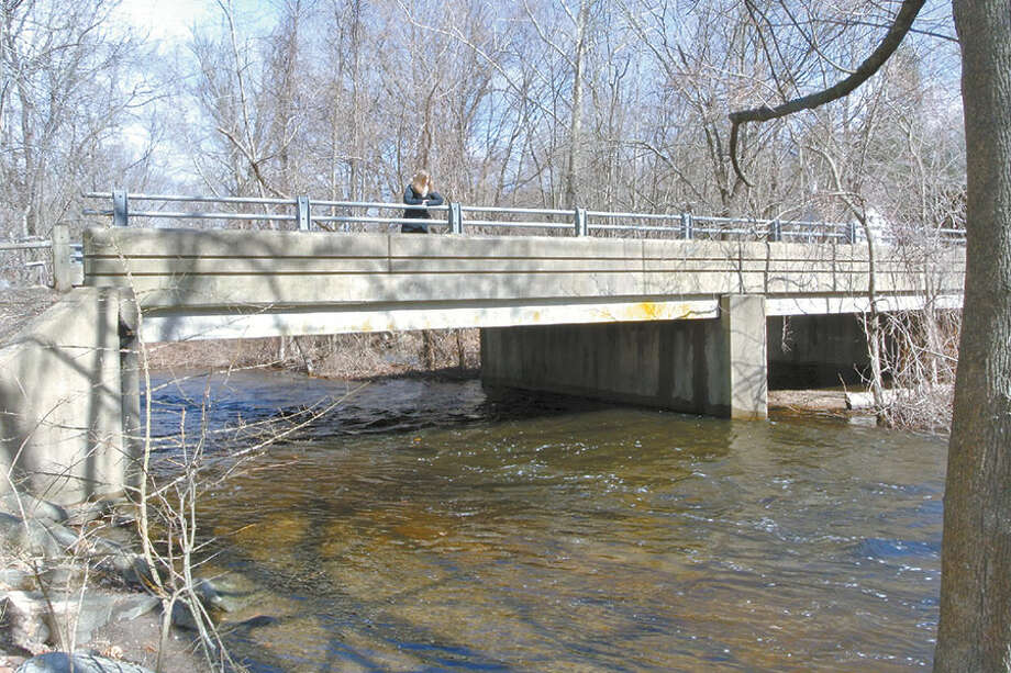 The Norwalk River in Cannondale. — Jeannette Ross photo