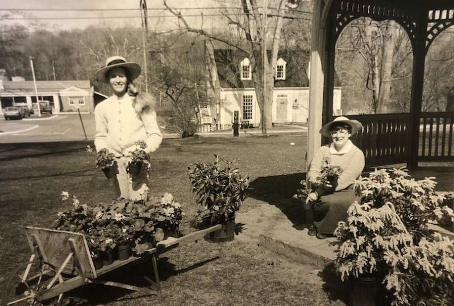 The Garden Club's Mother's Day Plant Sale has been going strong for 80 years. This photo is from the 1970s.