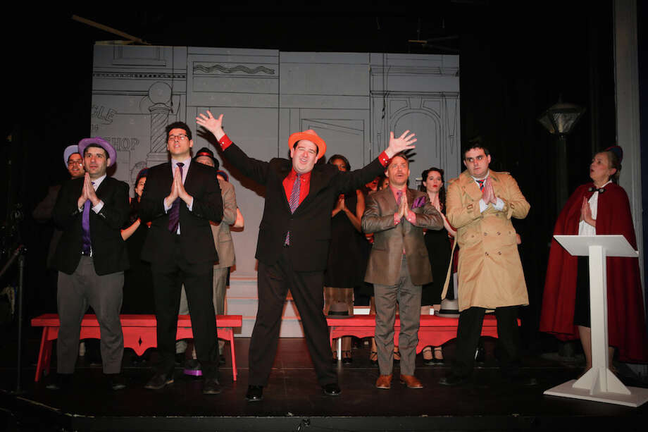 """""""Guys & Dolls"""" will be staged at the Wilton Playhouse April 26 through May 11."""