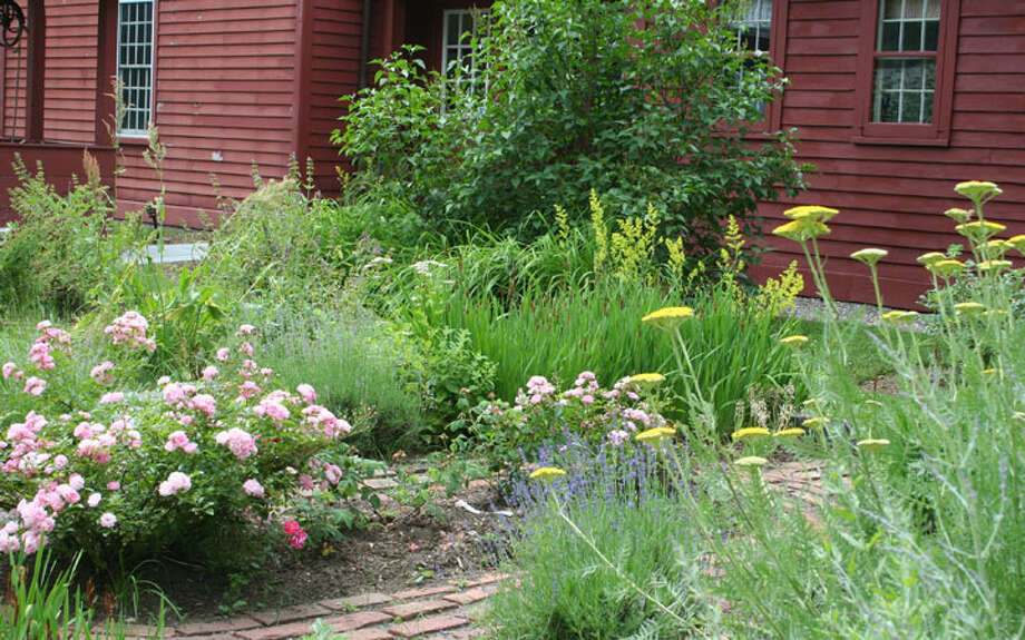 The Wilton Historical Society's Colonial Herb Garden.
