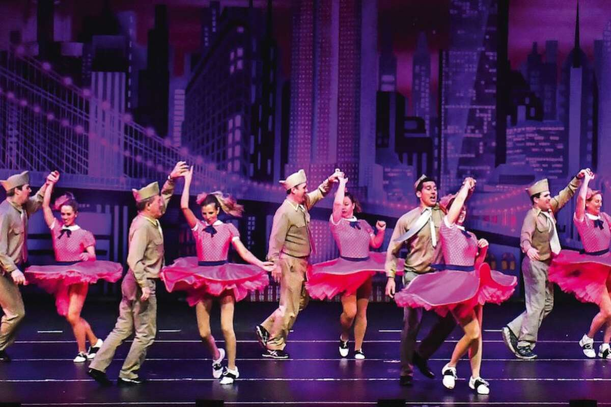 Alumni from the Walter Schalk School of Dance perform to Boogie Woogie Bugle Boy at the school's final Spring Revue in March. - Scott Mullin photo