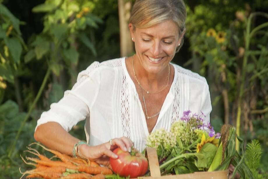 Christina Lombardozzi will visit Woodcock Nature Center on Sunday, May 5 for a field to fork event.
