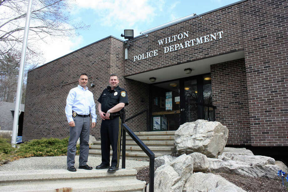 Wilton police officers Lieutenant Rob Kluk and Lieutenant David Hartman willl climb Mount Kilimanjaro to raise funds for the Special Olympics in Connecticut.