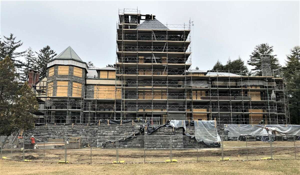 Yaddo is under a $7.5 million exterior restoration. Efforts by the stewards of the national landmark were recognized by the Saratoga Springs Preservation Foundation in May 2019.