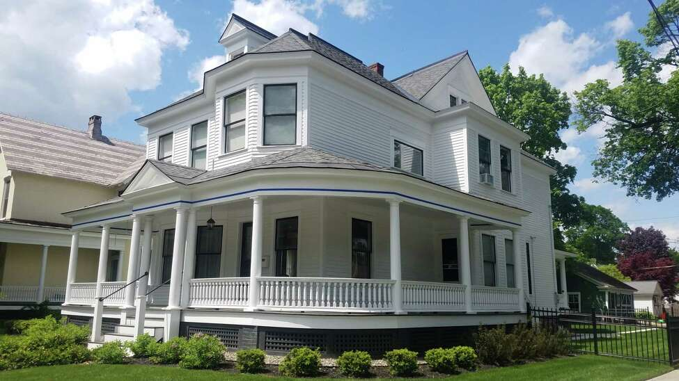 Several property owners were recognized at the 2019 Saratoga Springs Preservation Foundation awards for work on their porches, including Thomas Grossman, the owner of 169 Union Ave., who worked with Old Saratoga Restorations for his porch restoration.