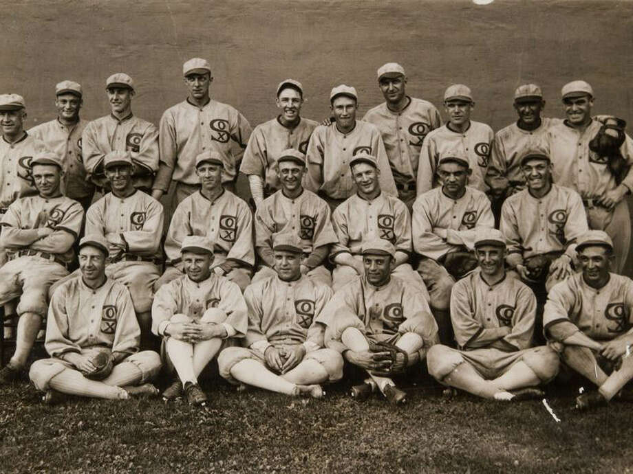 The Chicago White Sox 1919 team photo / Wilton Bulletin Contributed