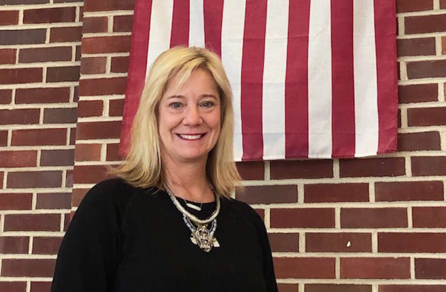 Wilton resident Lucy Berry has come up with a plan to honor veterans in Darien, where she is a school teacher. — contributed photo