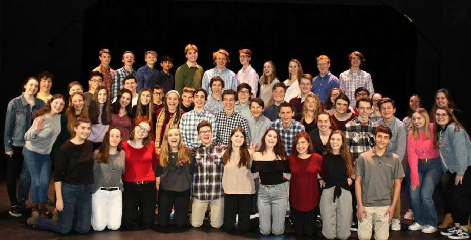 This year's Wilton High School Freeplay cast.