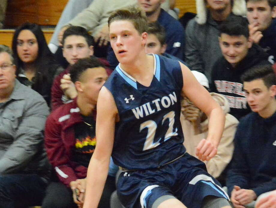 Andrew Smith scored 20 points in Wilton's win over Farirfield Warde. — Andy Hutchison photo