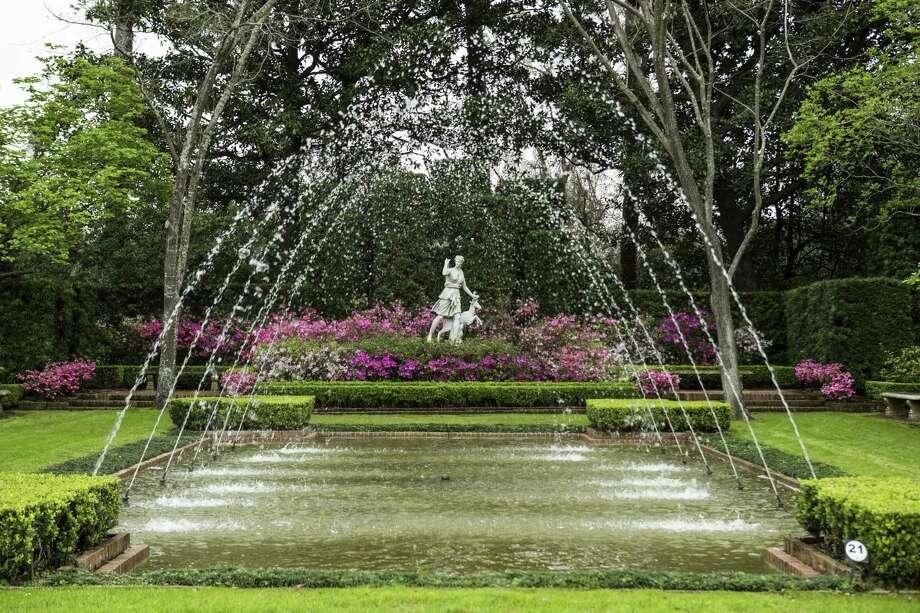 The Diana Garden is shown at Bayou Bend on Friday, Feb. 17, 2017, in Houston. ( Brett Coomer / Houston Chronicle ) Photo: Brett Coomer, Staff / Houston Chronicle / © 2017 Houston Chronicle