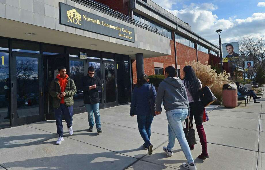 Connecticut community colleges face a $12.5 million budget cut. Photo: Erik Trautmann / Hearst Connecticut Media / Norwalk Hour