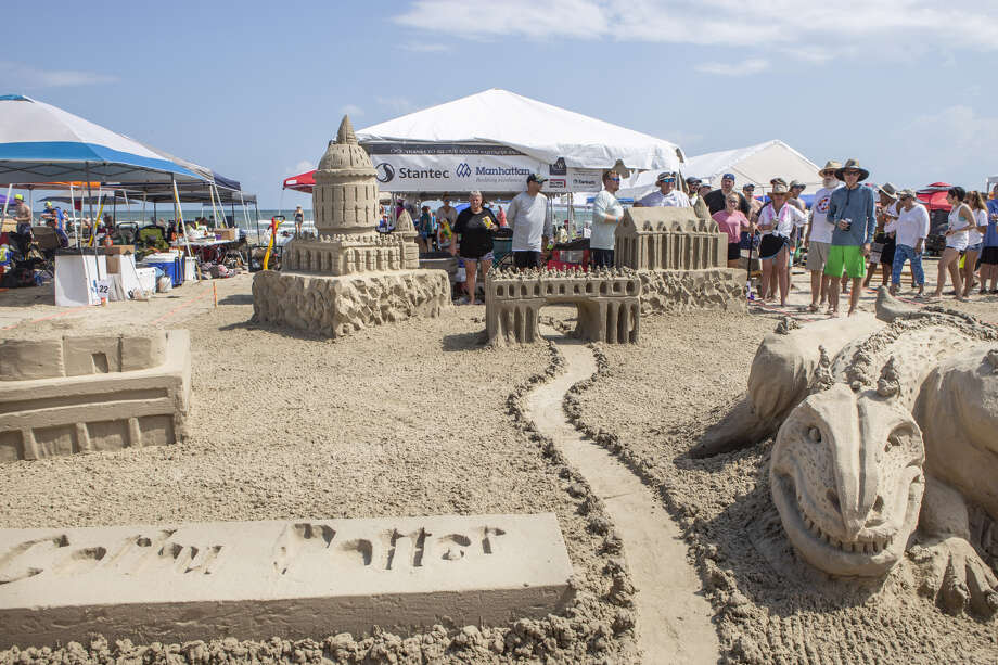 AIA Sandcastle Competition brings works of art to East Beach