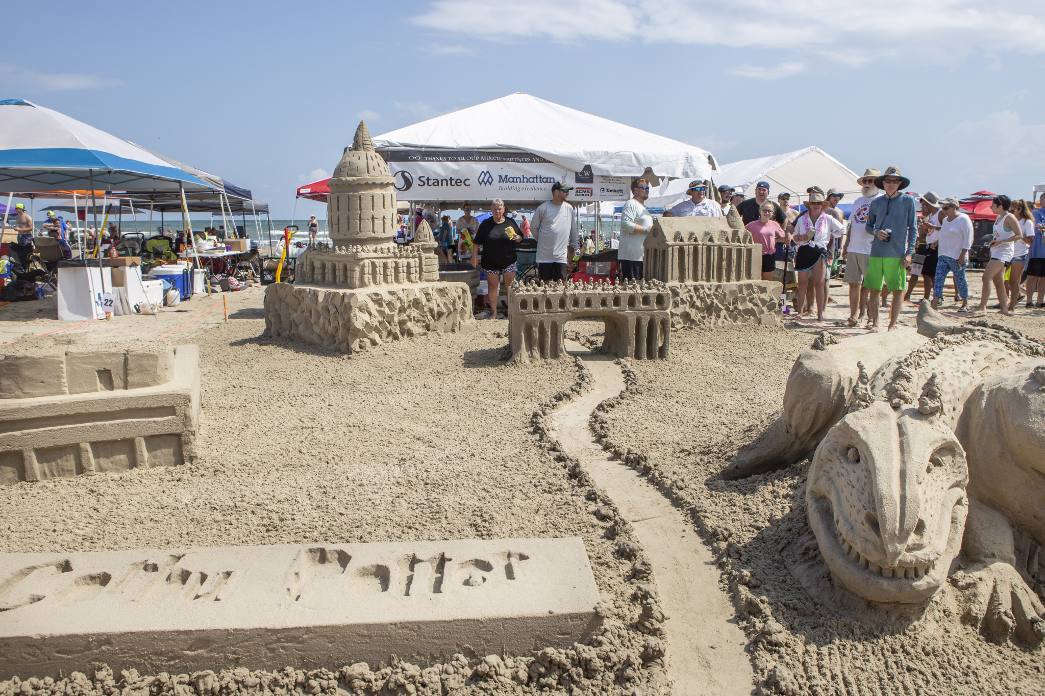 Popular Galveston Island sandcastle competition slated for Aug. 24, free to public