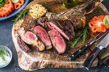 Barbecue Tomahawk Steak