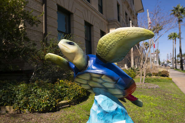 Established to raise awareness about the Kemp's ridley sea turtle, the series of art installations Turtles about Town can be found all over the island. Take a fun photo with each turtle in more than a dozen spots across Galveston, including City Hall, Seawolf Park, Kempner Park, Bryan Museum and Clay Cup Studios.