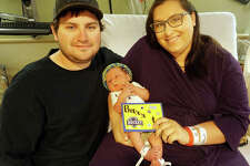 Barrett Matthew Brown was born to Brent and Elyse Brown of Batchtown at Alton Memorial Hospital on Wednesday night during the St. Louis Blues' Stanley Cup championship win.