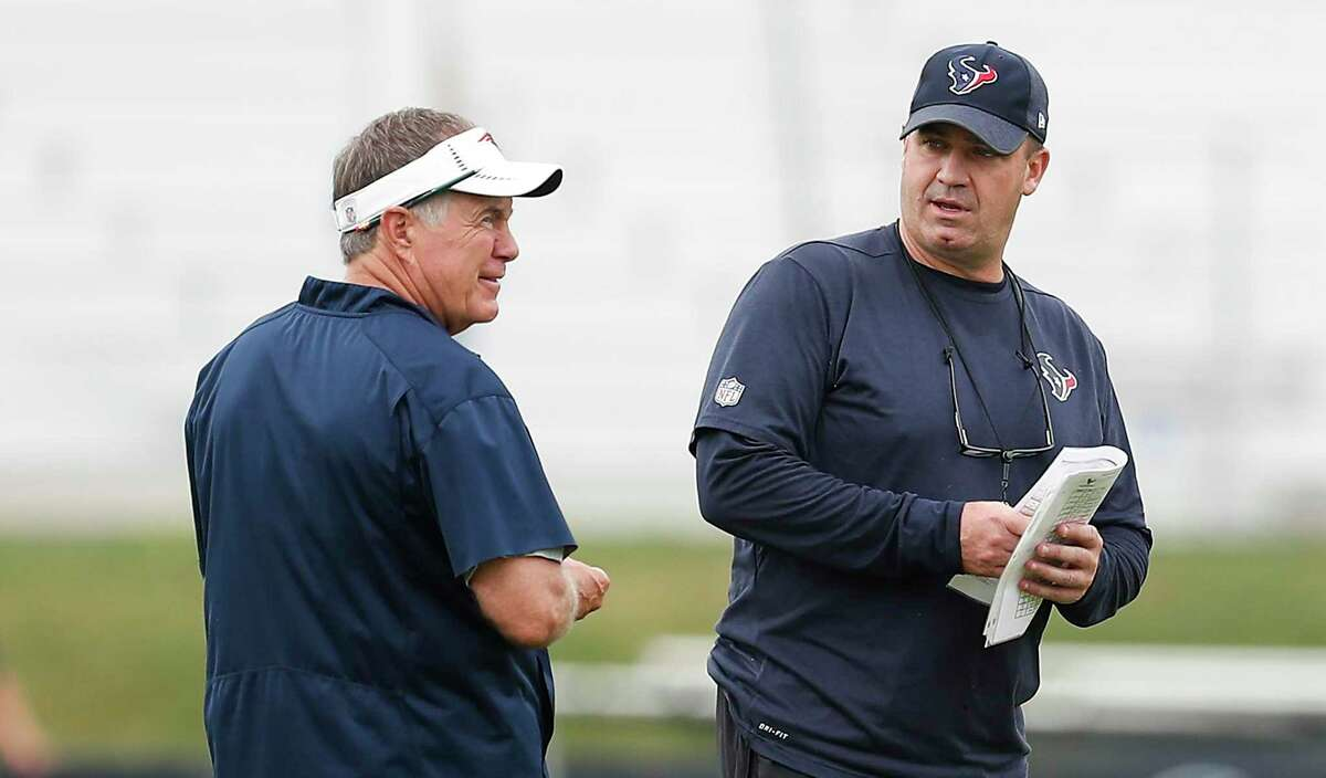 An upcoming book says Bill O'Brien tried to get fired with the Texans so he could take over for Bill Belichick in New England.