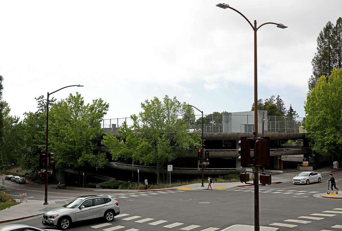 The Upper Hearst Parking Structure at the University of California, Berkeley, at Hearst Ave. and La Loma Ave., in Berkeley, Calif., on Saturday, May 12, 2019. UC Berkeley has a housing proposal that would replace the parking garage at Hearst Ave. and La Loma Ave. A neighborhood group is suing.
