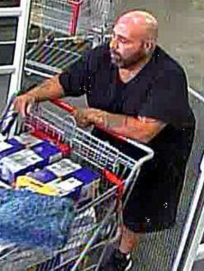 North Haven, Conn., police are hoping to identify this man, who they say stole $600 worth of items from a local BJ's Wholesale store on Monday, June 10, 2019. Photo: Contributed Photo / North Haven Police Department