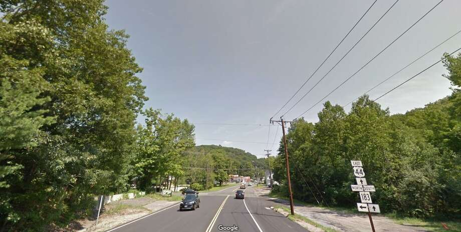 Route 44, also known as Main Street, looking east in the area of Coe Street. Photo: Google Maps /
