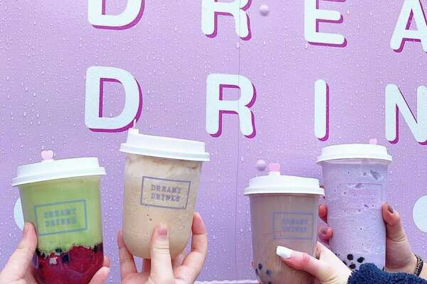 Dreamy Drinks: Their logo is a unicorn, which  makes sense because the whimsical drinks would fit in perfectly with your favorite fairy tale story. Sip on strawberry jasmine slushies with boba or roasted oolong milk tea alongside their pastel pal on wheels.