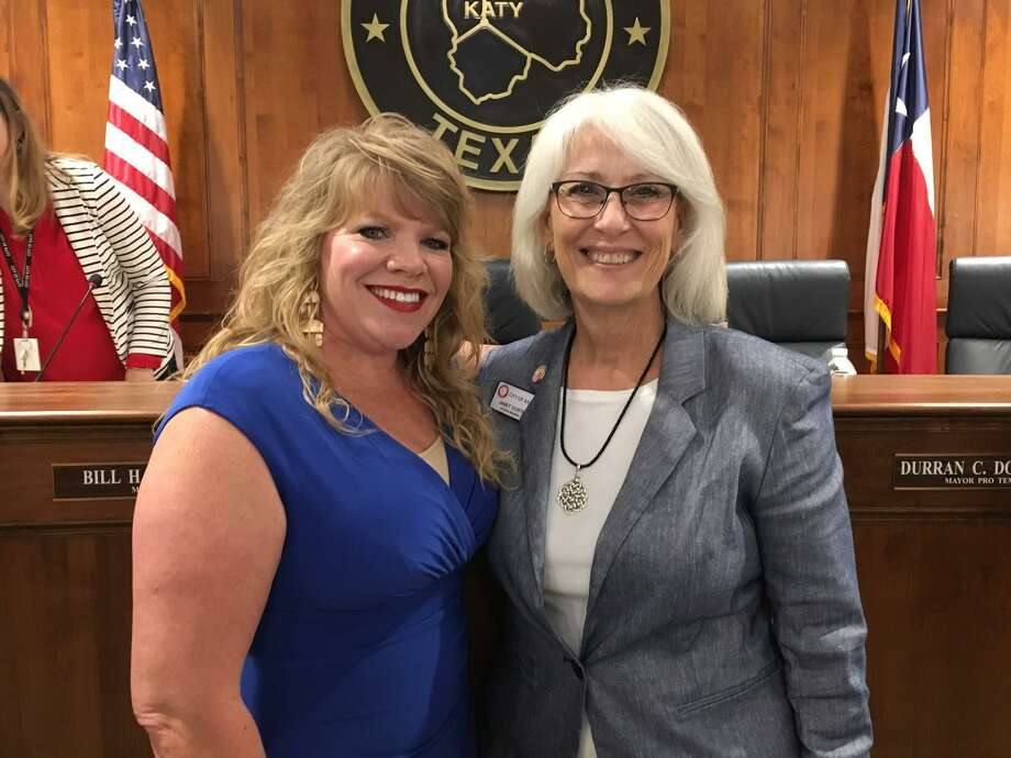For the first time since 1992, Katy has more than one woman serving on the City Council. Jenifer Jordan Stockdick, who was elected to her Ward B seat in May, joins Janet Corte, who was elected to her Ward A seat in May 2018. Photo: Karen Zurawski / Karen Zurawski