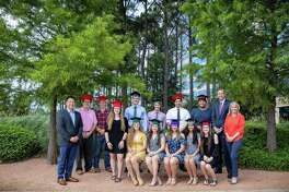 Earlier this month, 12 students who graduated from six area high schools and are attending college this fall received scholarships from the Howard Hughes Corp.