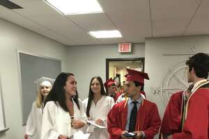 Cromwell High School held its graduation ceremonies.