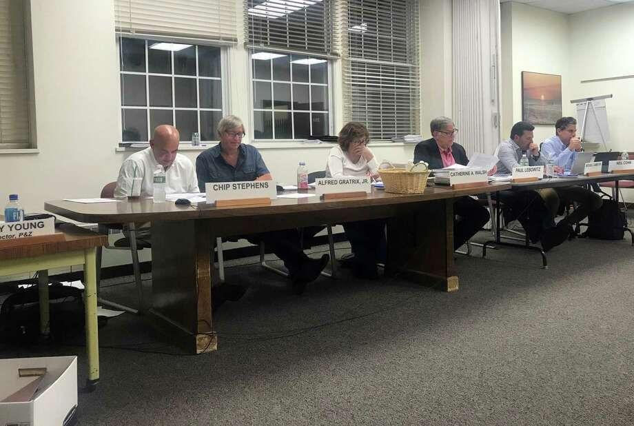 The Planning and Zoning Commission. Taken June 14, 2019 in Westport Town Hall. Photo: Contributed Photo