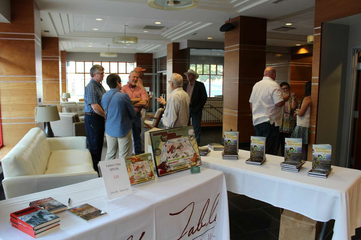Opal's Table hosted Wine and Words Dinner on June 12 to benefit the Permian Basin Bookies. The four-course meal was based on literary works and paired with various wine labels. The event also featured local authors and their books.