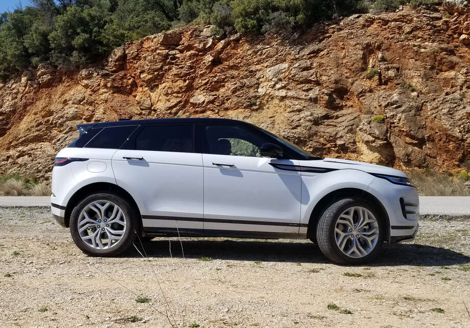 For 2020, the Evoque's footprint is nearly identical to the 2019's but is based on a new platform and a wheelbase that's 0.8 inches longer, that pays off with more knee room for the back-seat passengers and cargo room goes up 6 percent. Photo: Jeff Yip