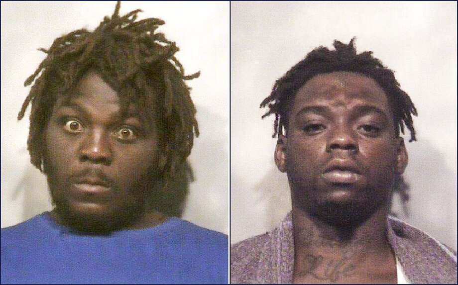 Sugar Land Police arrested Houston-residents Kevin Laron Wooden, 23, and Desharon Trevon Morris, 23, after a resident in the New Territory neighborhood called to report suspisious people walking near a home around 3:30 a.m. Monday, June 10. Police located the two men and after a brief investigation at the scene, arrested the suspects on felony charges of burglary of a habitation. According to police officials, stolen items were reportedly located in the suspect's vehicle along with a small amount of marijuana.
