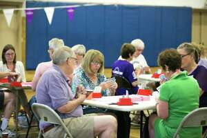 Newtown Bridge Club participates in last year's Longest Day fundraiser for the Alzheimer's Association. The third annual event will be held June 19.