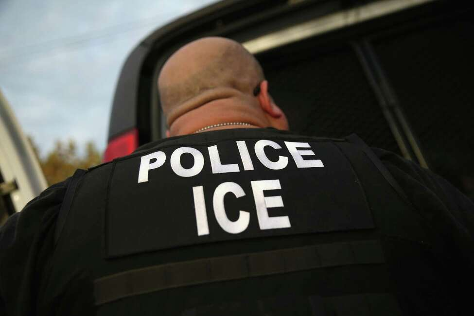 Agents from the Office of Immigrant and Customs Enforcement seized a former employee of a now-closed Western Avenue restaurant while he was in Albany to give a deposition.