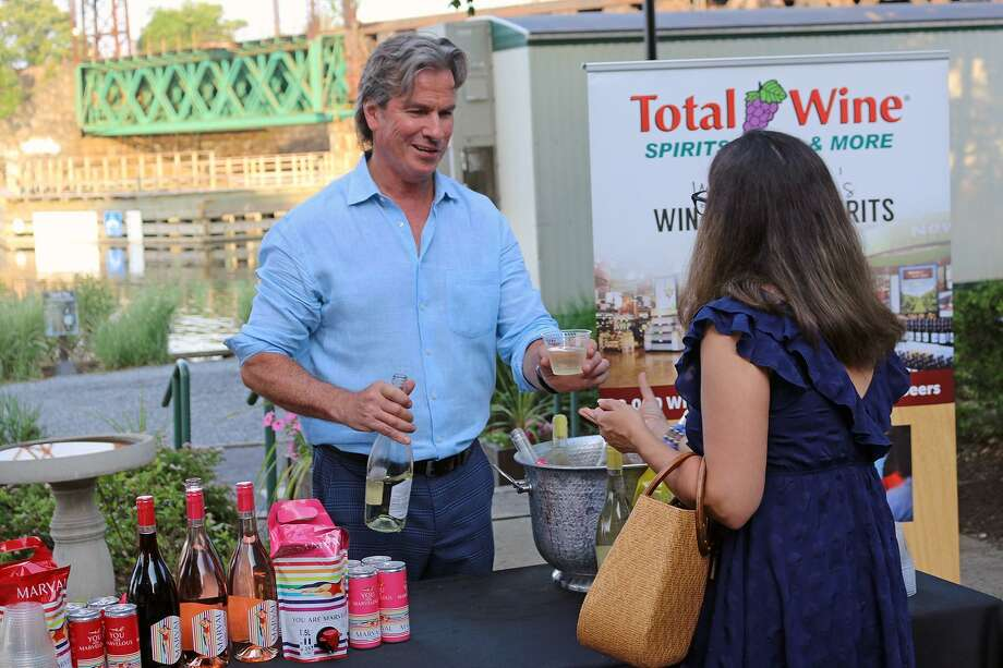 "Represenatives from Total Wine & More, as well as other wine retailers, artisanal distillers and craft breweries, will be pouring samples during The Maritime Aquarium at Norwalk's ""Maritime with a Twist"" on June 27. The adults-only event also will feature menu items from South Norwalk restaurants — all for one price. Photo: Maritime Aquarium At Norwalk / Contributed Photo"