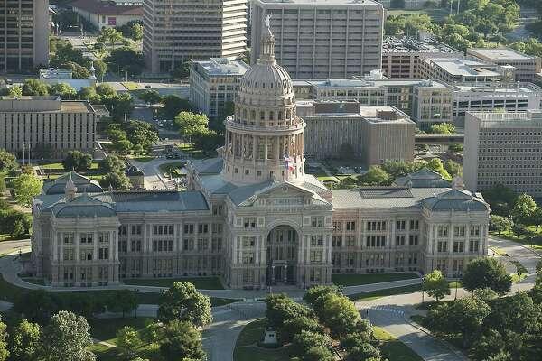 The Texas Capitol in downtown Austin, Texas. (Ralph Barrera/Austin American-Statesman/TNS)
