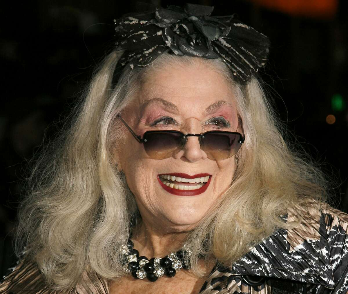FILE - In this Sunday, Jan. 7, 2007, file photo, Sylvia Miles arrives for the 2006 New York Film Critic's Circle Awards at the Supper Club in New York. Miles, whose brief appearances in