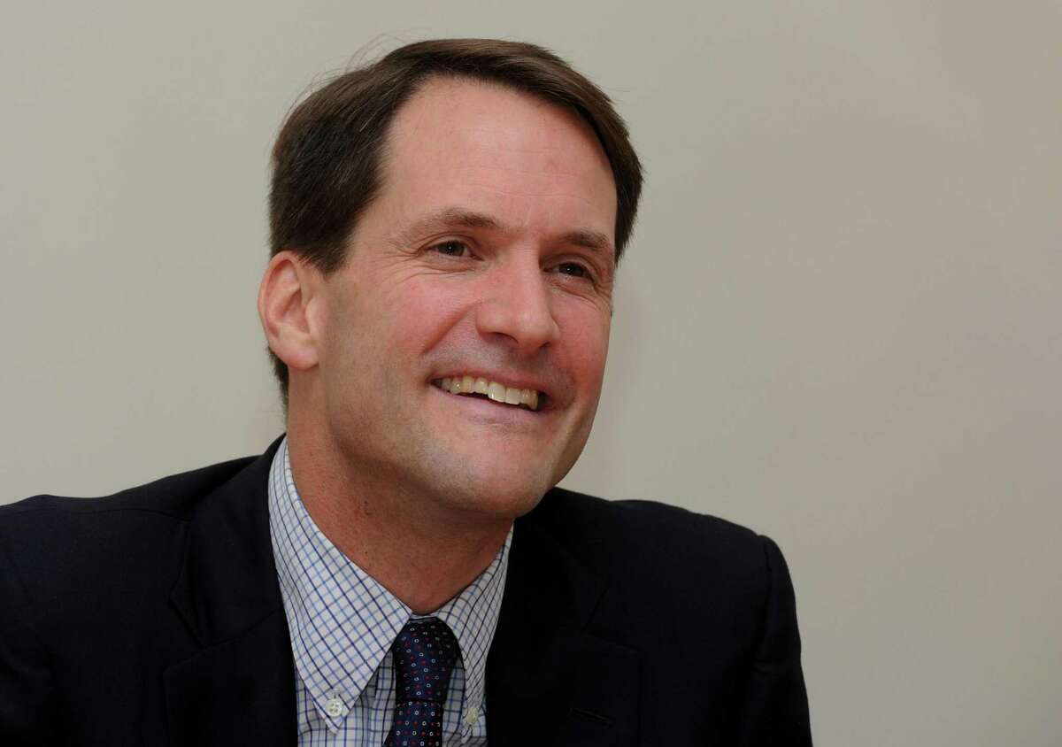 Rep. Jim Himes made it back to Washington in time for a closed-door House intel hearing Friday that featured intelligence community IG Michael Atkinson