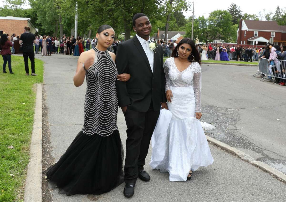 Were you Seen at the Schenectady High School Junior/Senior prom walk-in at the high school on Friday, June 14, 2019?