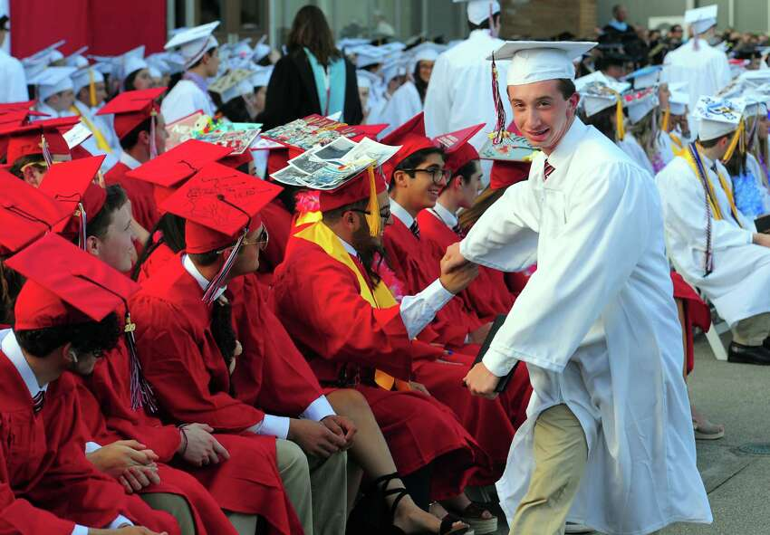 Fairfield Warde High School's Commencement Exercises in Fairfield, Conn., on Friday June 14, 2019.