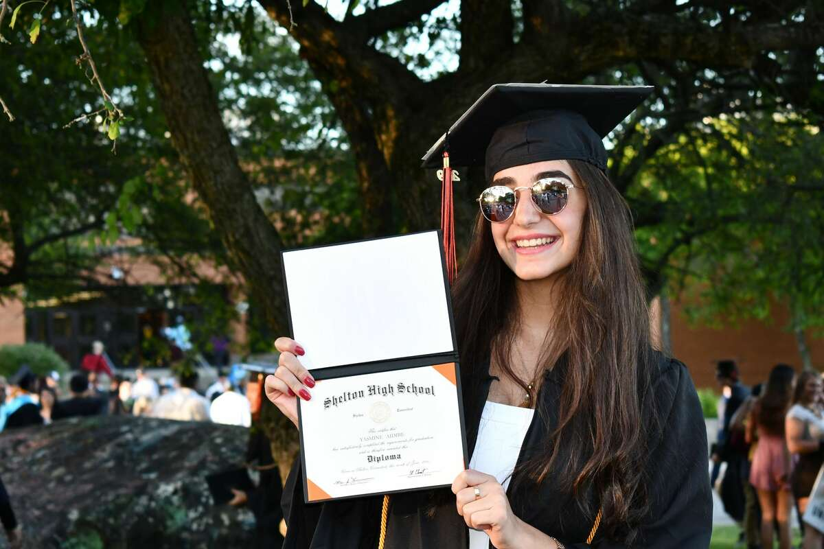 Shelton High School held graduation for the Class of 2019 Friday evening, June 14, 2019 in Shelton.
