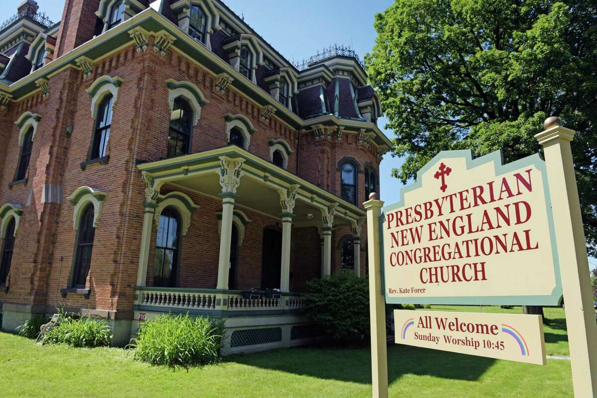 A view of the Presbyterian-New England Congregational Church Nolan House on Wednesday, June 7, 2017, in Saratoga Springs, N.Y. The church is creating a sanctuary for illegal immigrants who are working with lawyers so they won't be deported. Those seeking sanctuary will be housed in the Nolan House. (Paul Buckowski / Times Union)