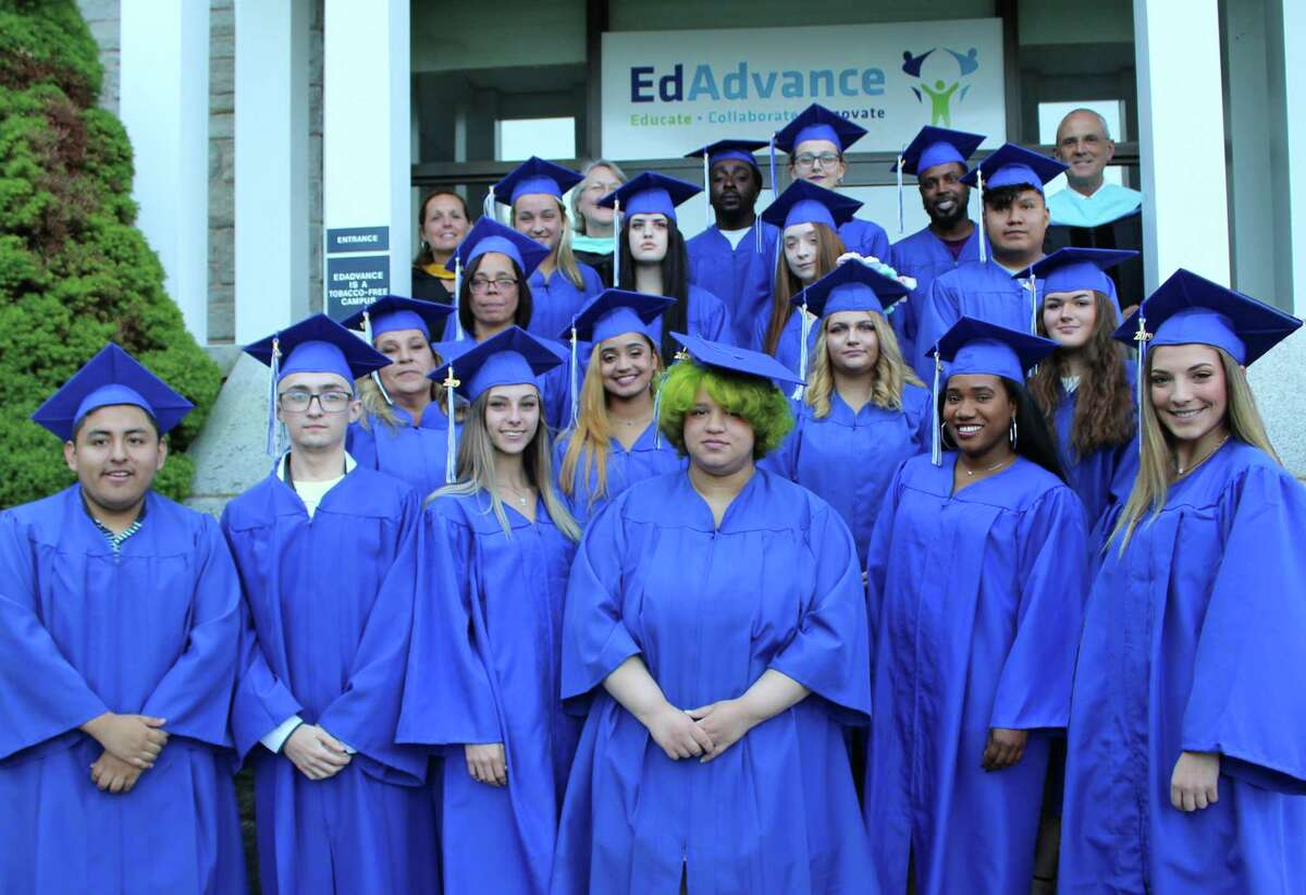 A group of 25 graduates from EdAdvance's Foothills Adult Education Programs were recognized at the June 11 ceremony held at EdAdvance's headquarters in Litchfield.