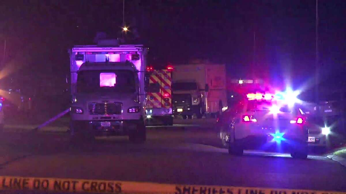 A Harris County Sheriff's Deputy was shot while responding to a domestic violence incident in NW Harris County